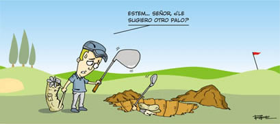 chistes de golf