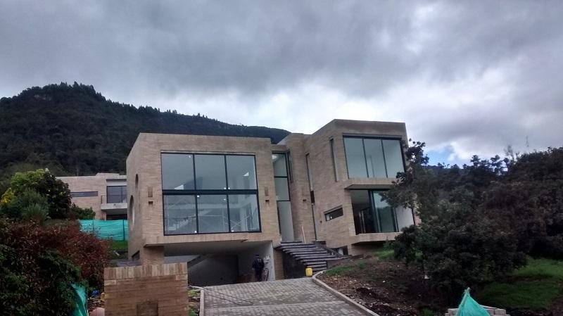 ventanas thermia en proyecto casa campentre