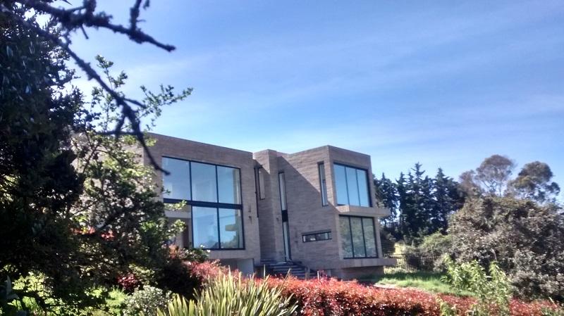 ventanas thermia en proyecto casa campentre La Calera