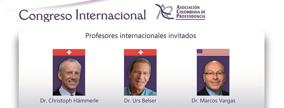60 Congreso Internacional Asociación Colombiana de Prostodoncia - Hotel Estelar Cartagena Octubre 2016