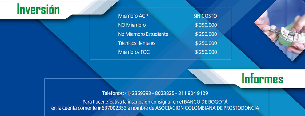 Congreso Nacional Enrique Echeverri 2016 - Inversión