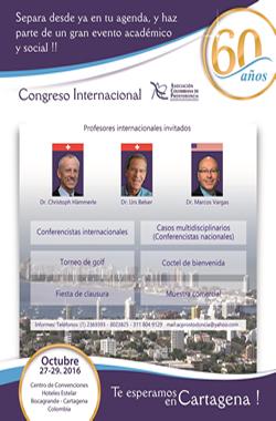 Congreso Internacional Asociación Colombiana de Prostodoncia - Cartagena 2016