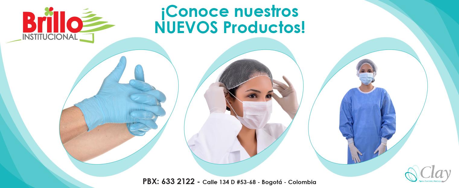 productos de higiene, prevención y protección Clay