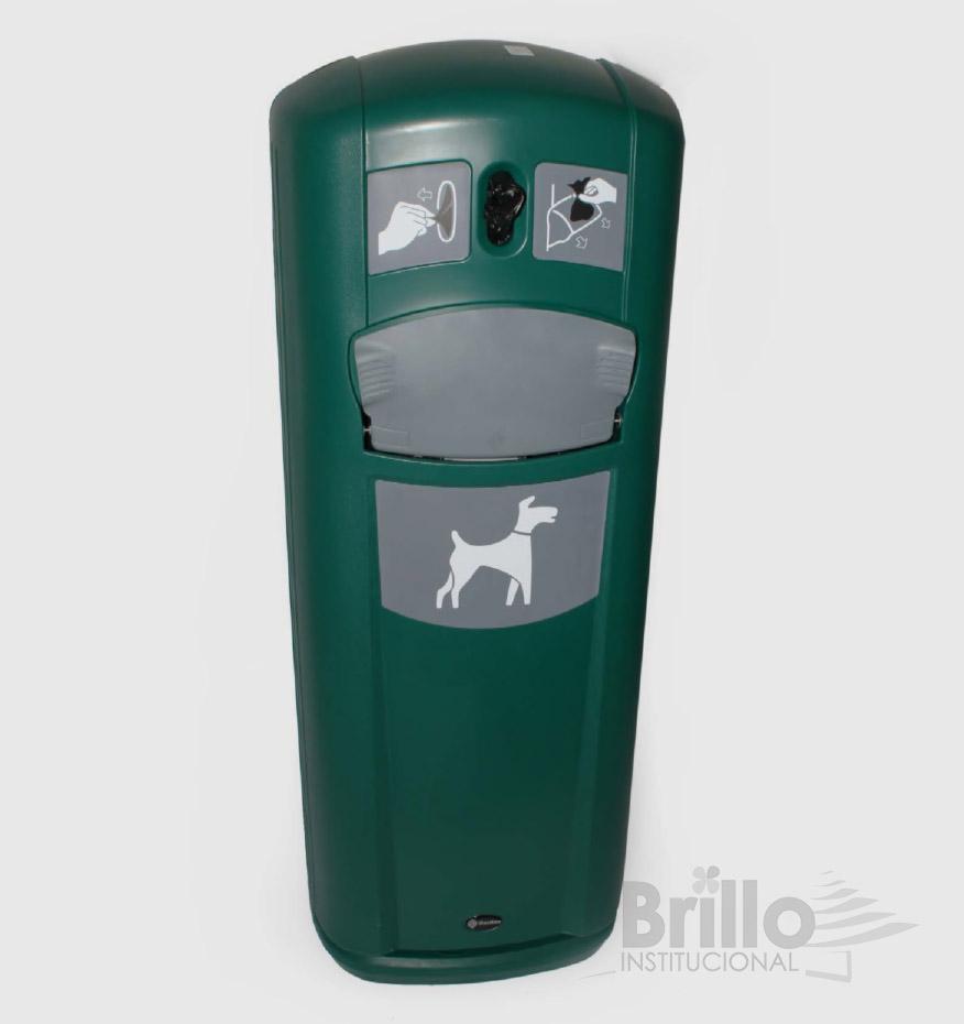 Papelera Glasdon para residuos de mascotas 35 litros