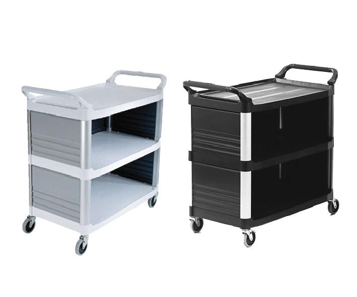 CARRO 3 ESTANTES - RUBBERMAID
