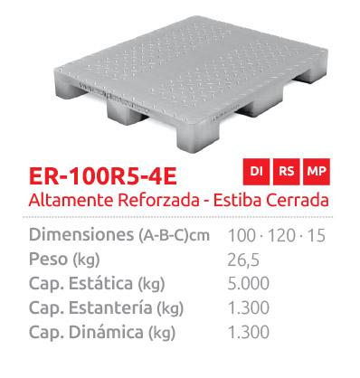 ER-100 R5-4E ALTAMENTE REFORZADA, ESTIBA CERRADA