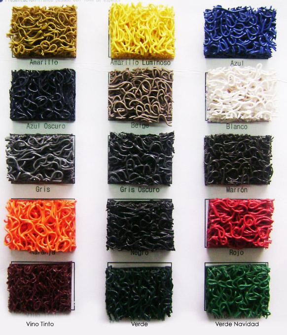 Colores de tapetes Super Duty