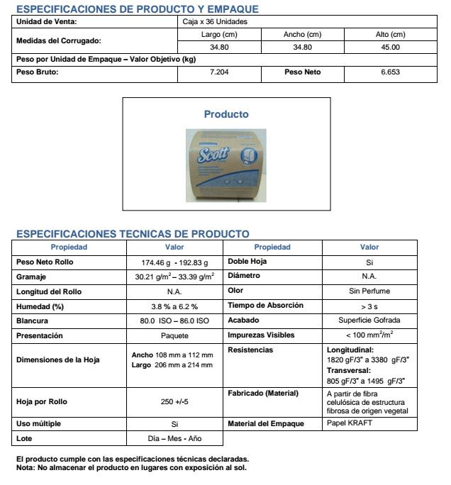 FICHA TECNICA 30215879
