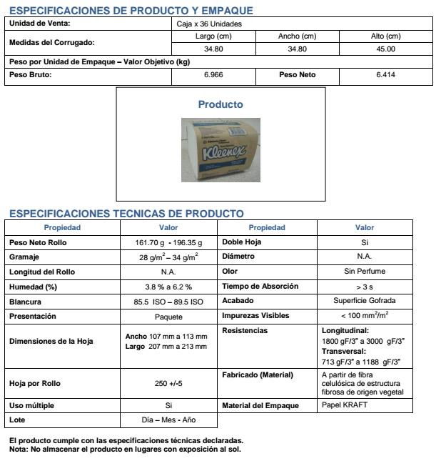 ficha tecnica f.t. bulpack 30179062