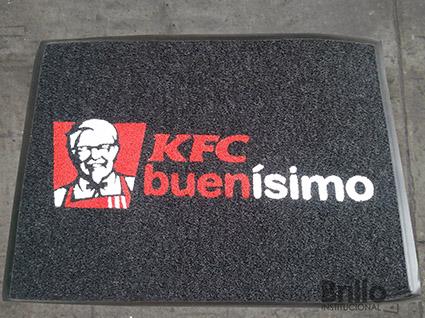 tapete atrapamugre KFC - 3000 pisadas