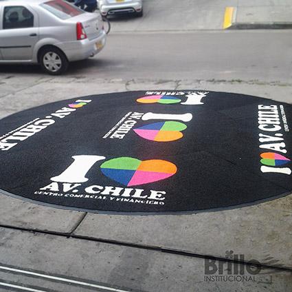 tapete atrapamugre C.C. Av. Chile - Tráfico medio - Super Duty