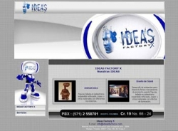 paginas web de Ideas Factory