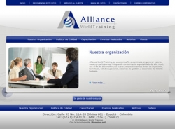 paginas web de Alliance World Training