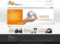 paginas web de Team Work S.A.S.