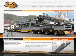 paginas web de Eagle Transport