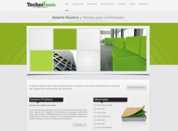 paginas web de Technifoam Colombia