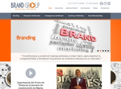 paginas web de Brand Group
