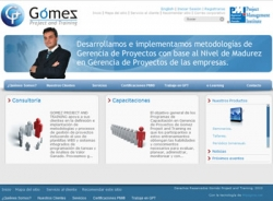 paginas web de Gomez Project and Training