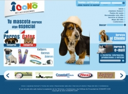 paginas web de Icono PET